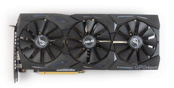 Asus Strix RTX 2070 O8G Gaming front